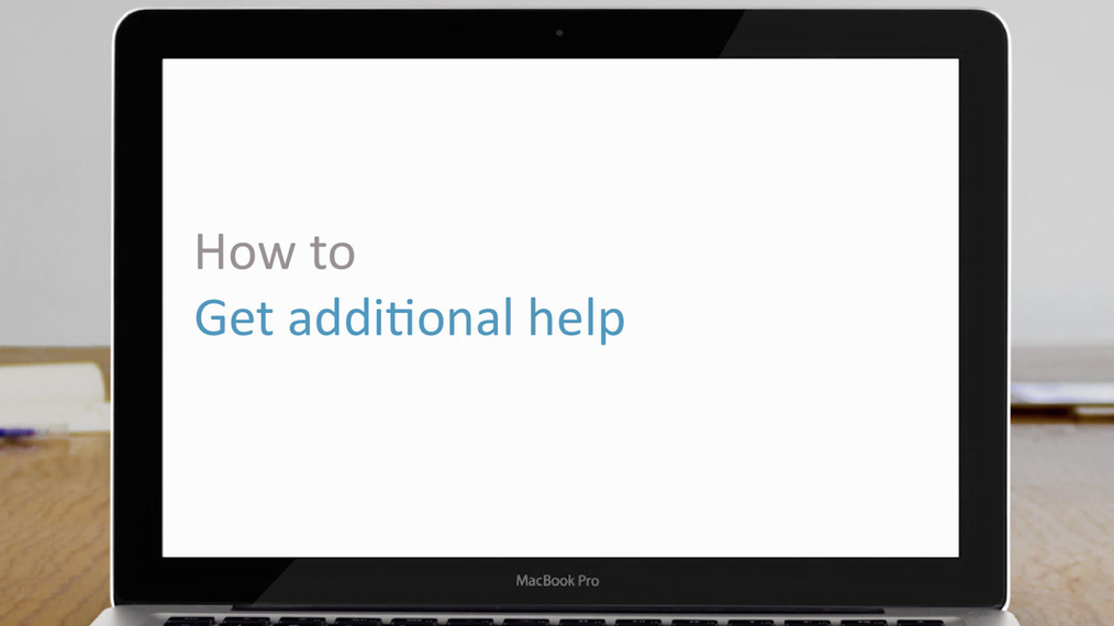 Get additional help | how to