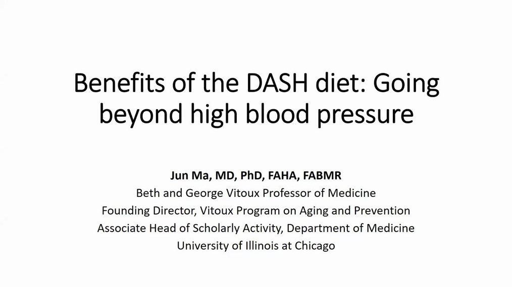 Benefits of the DASH Diet: Going Beyond High Blood Pressure 12.12.19. Dr. Ma _pa.mp4