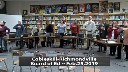 CRCS BOE -- Feb.25,2019