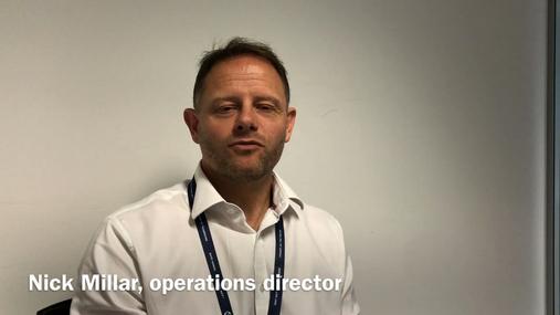 Preparing for a presidential visit: Nick Millar, operations director