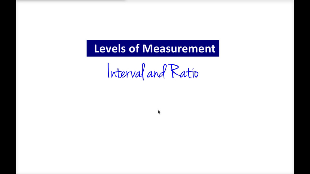 Intro Stats_ Levels of Measurement - Interval & Ratio.mp4