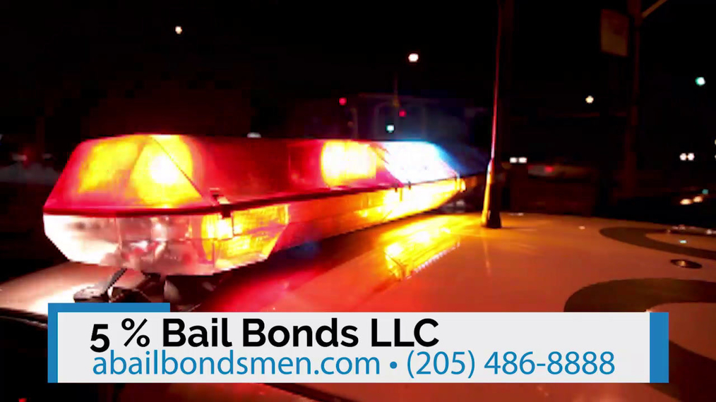 Bail Bonds in Shelby AL, 5 % Bail Bonds LLC