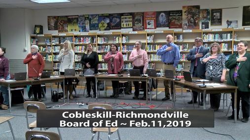 CRCS BOE -- Feb.11,2019