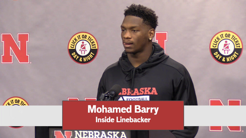 Mohamed Bary - Monday Press Conference - - - Full Comments