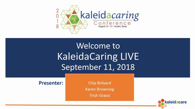 KaleidaCaring LIVE 2018-09