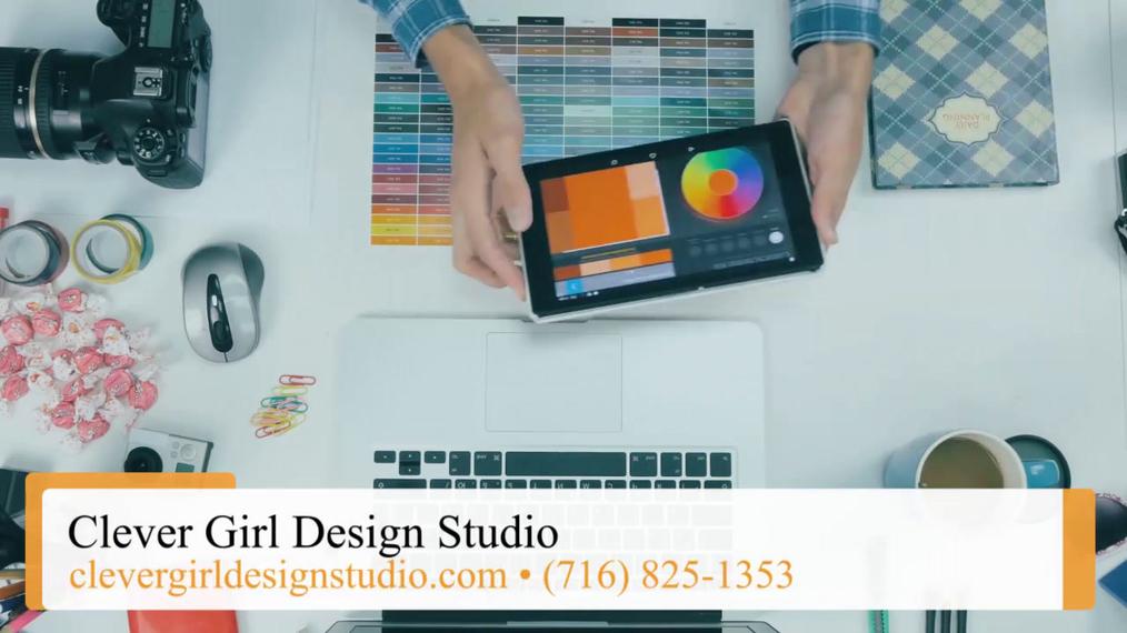 Graphic Designer in Buffalo NY, Clever Girl Design Studio