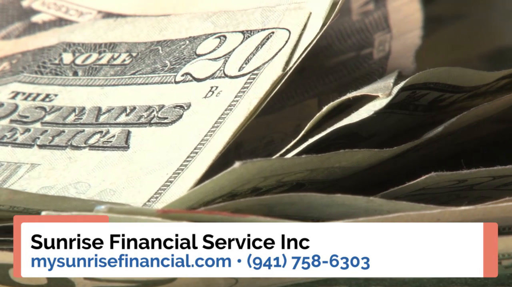 Financial Services in Sarasota FL, Sunrise Financial Service Inc