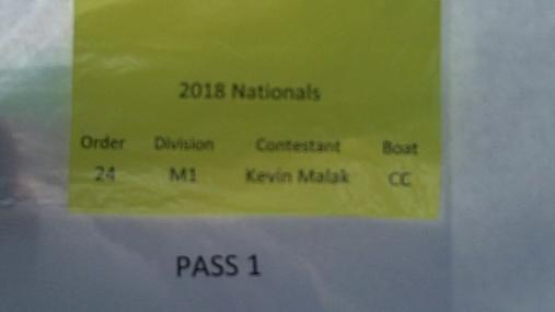Kevin Malak M1 Round 1 Pass 1