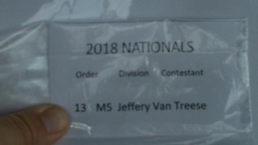 Jeffery Van Treese M5 Round 1 Pass 2