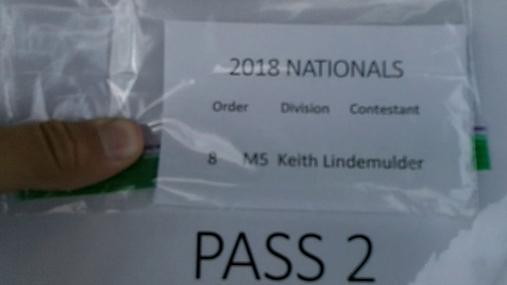 Keith Lindemulder M5 Round 1 Pass 2