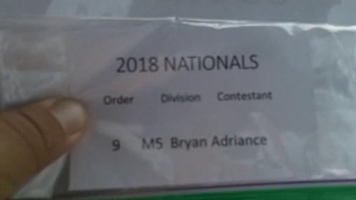 Bryan Adriance M5 Round 1 Pass 1