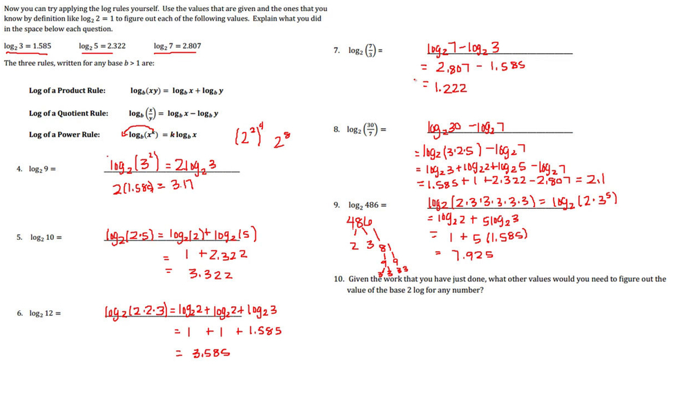 SM III 2.4  Properties of Logs Part 1.mp4
