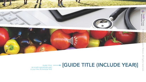 Benefits Enrollment Guide 20-pg Outdoor Vibrant Style by The HR Trove