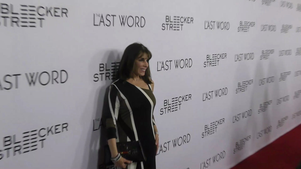 Kate Linder at the Premiere of The Last Word at Archlight in Hollywood.mp4