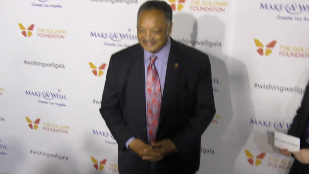 Jesse Jackson at the 4th Annual Wishing Well Winter Gala at Hollywood Palladium in Hollywood.mp4