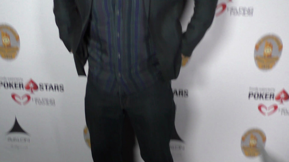 Jason Gedrick at the Los Angeles Police Memorial Foundation Celebrity Poker Tournament at Avalon Nightclub in Hollywood.mp4