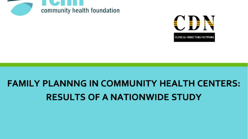 Health Centers and Family Planning: Results of a Nationwide Study