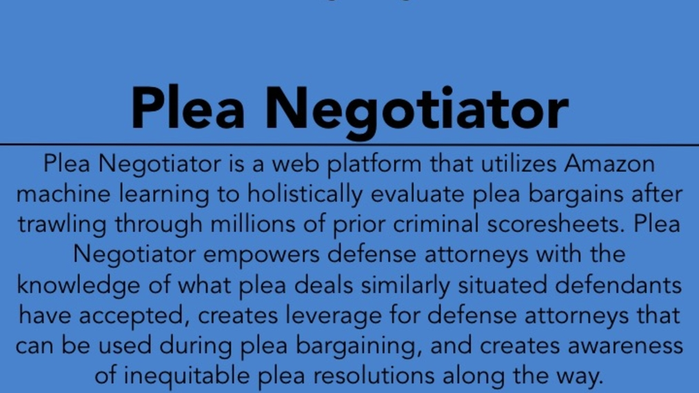2017 LWOW X POW: Plea Negotiator