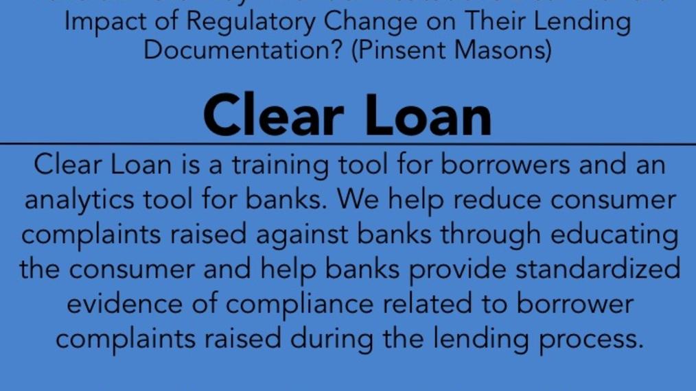 2017 LWOW O POW: Clear Loan
