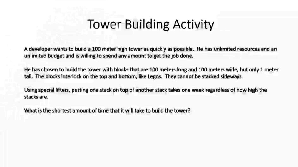 Tower building introduction