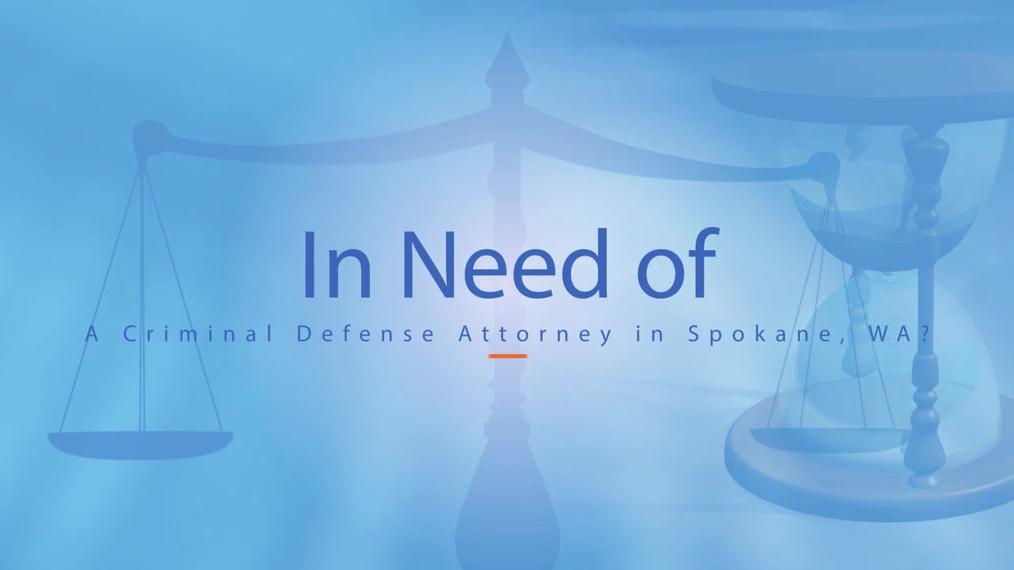 Criminal Defense Attorney in Spokane WA, Baker Law Office