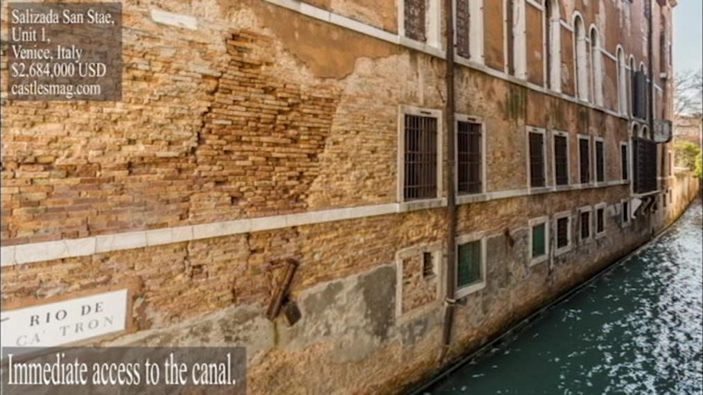 Salizada San Stae, Venice, Italy