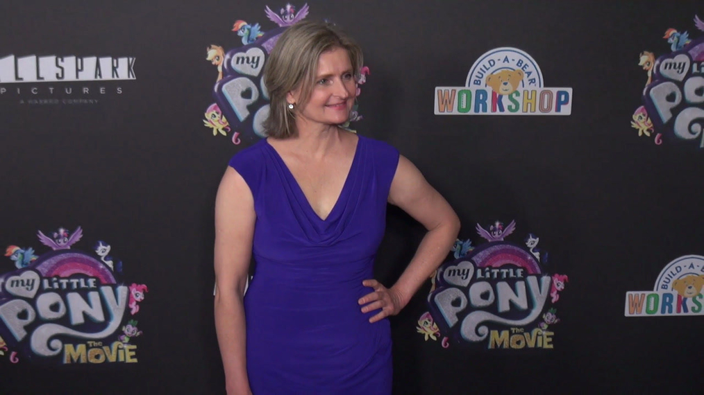 Cathy Weseluck at the My Little Pont The Movie Premiere at AMC Lincoln Square Theater in New York.mp4