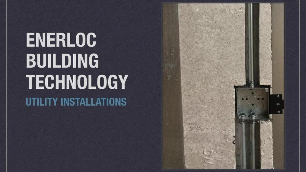 E.  ENERLOC - Applications & Installation