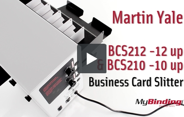 Buy Martin Yale Tabletop 10up Business Card Slitter Bcs210 At 124673