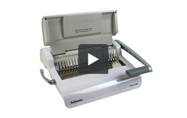 Fellowes Pulsar 300 Plastic Comb Binding Machine