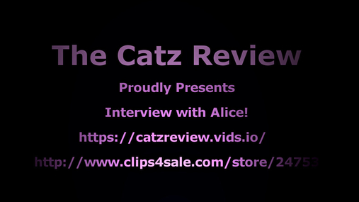 An interview with - Alice