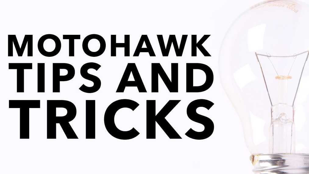MotoHawk Tips & Tricks Webinar