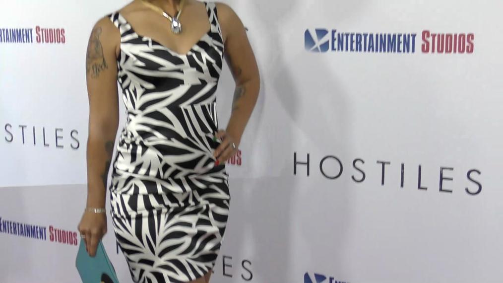Joy Villa at the Hostiles Premiere at Samuel Goldwyn Theater in Beverly Hills.mp4