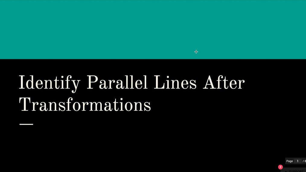Identify Parallel Lines After Transformations.mp4