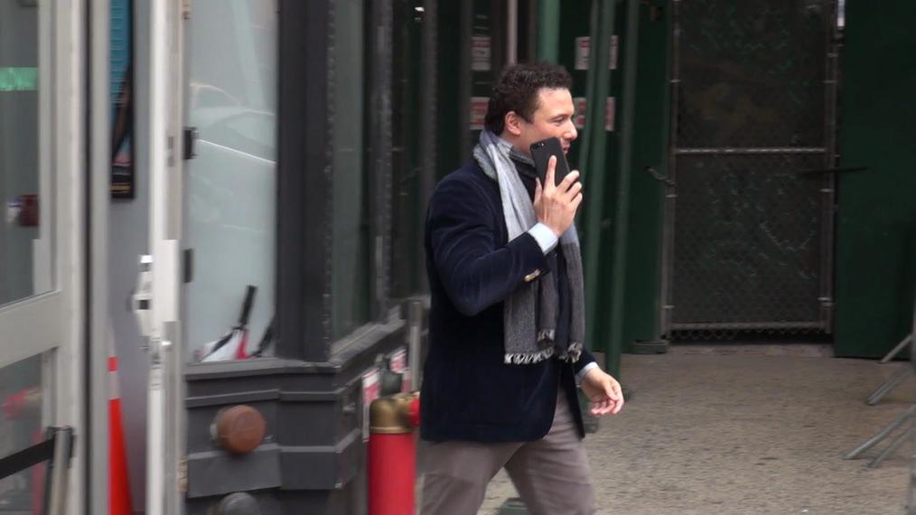 Rocco Dispirito outside the BUILD Series in New York.mp4