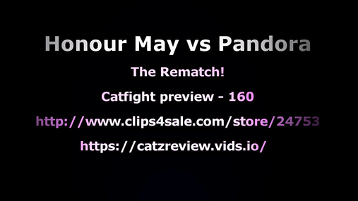 Honour May vs Pandora -  The Rematch - preview 4K