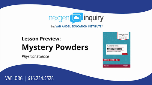 Mystery Powders Lesson Preview