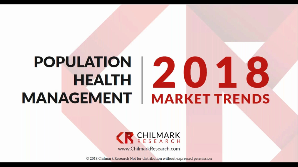 2018 Population Health Management Market Trends Webinar