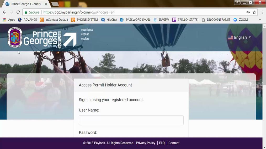 Prince Georges County - Como Registrar su Cuenta