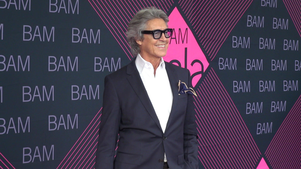 Tommy Tune attends the BAM Gala 2018 at Brooklyn Cruise Terminal in New York.mp4