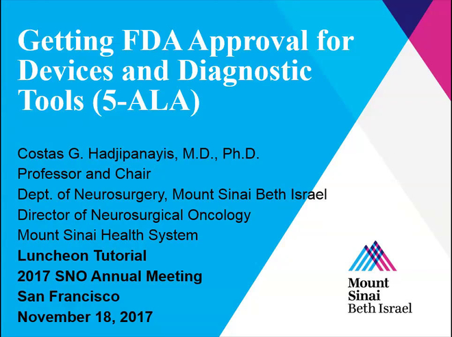 Getting FDA Approval for Devices and Diagnostic Tools