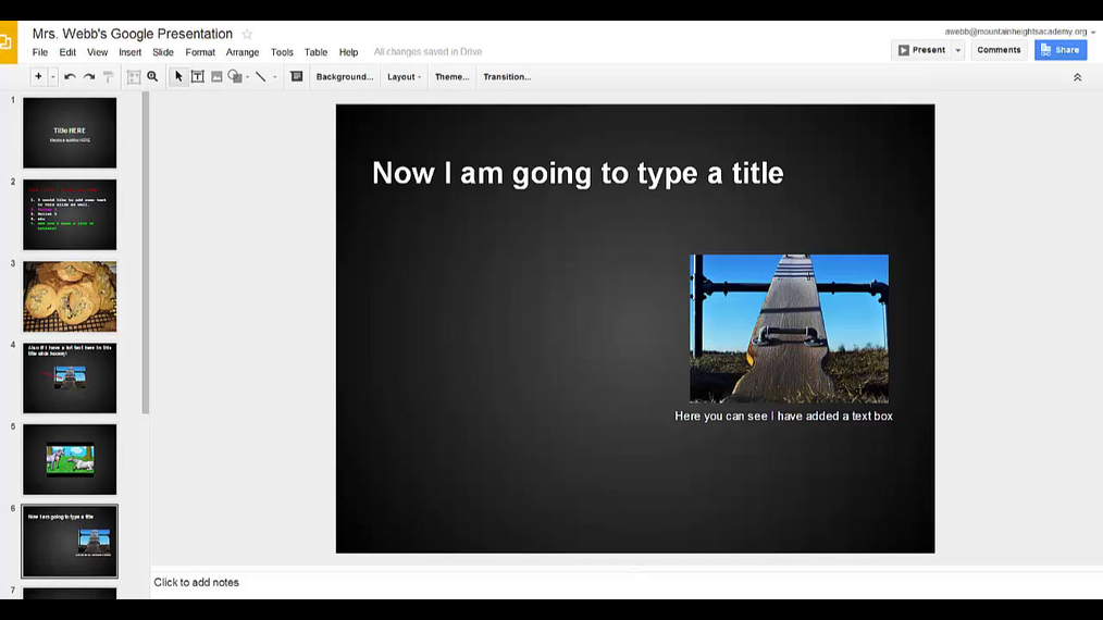 Google Presentations - Comments, arranging and order.mp4