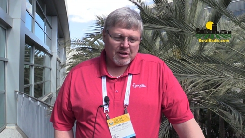 NE Corn Board Chairman David Merrill talks about growers roll at Classic