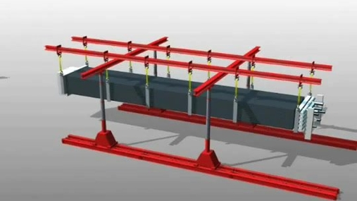 HRSG Tailing Frame
