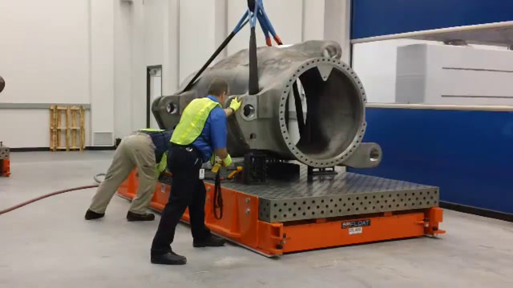 Airfloat CMM Shuttle System