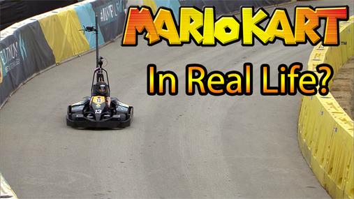 Experiencing Real Life Mario Kart at SXSW 2014