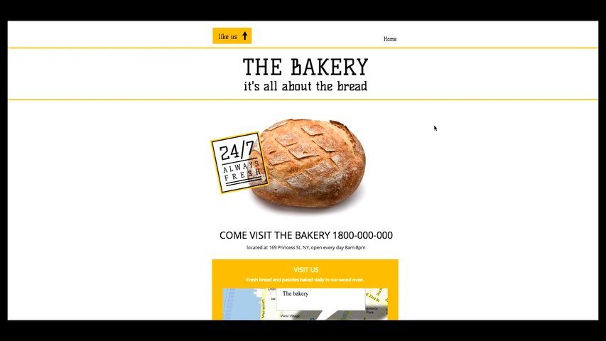 Create you an interactive Facebook Page with Wix