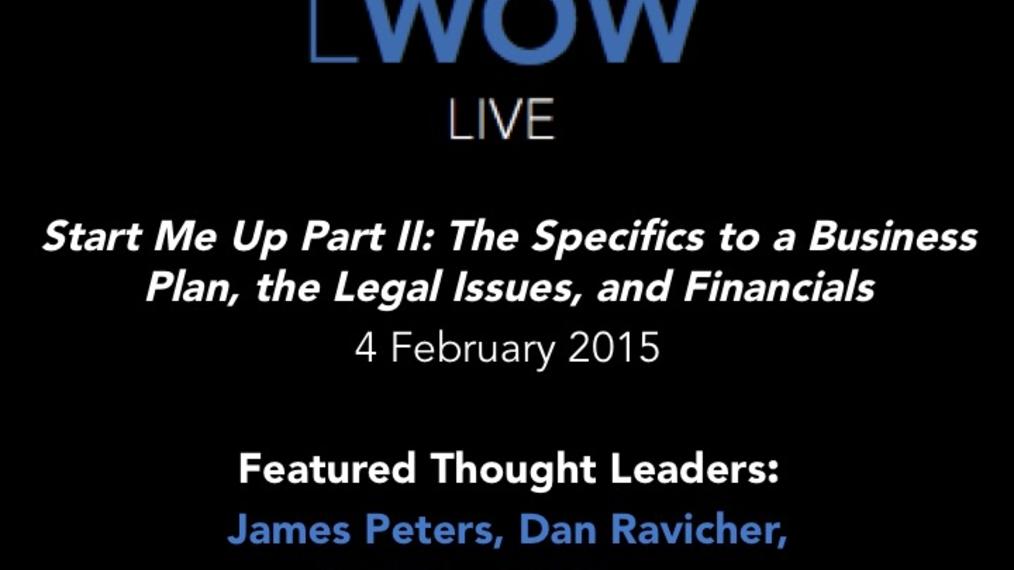 2-4-15 LWOW Live: Start Me Up Part II