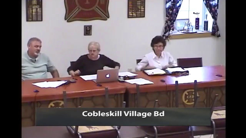 Cobleskill Village Bd 16 June 2015