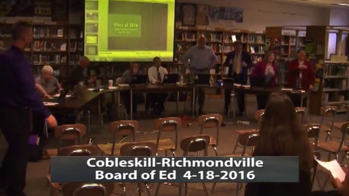 CRCS Bd of Ed -- Apr 18 2016